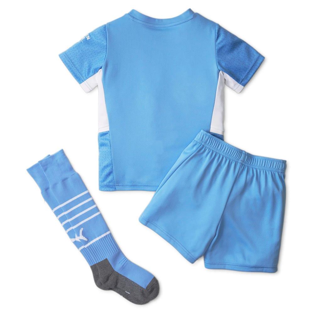 Image Puma Man City Home Youth Football Mini Kit 21/22 #2