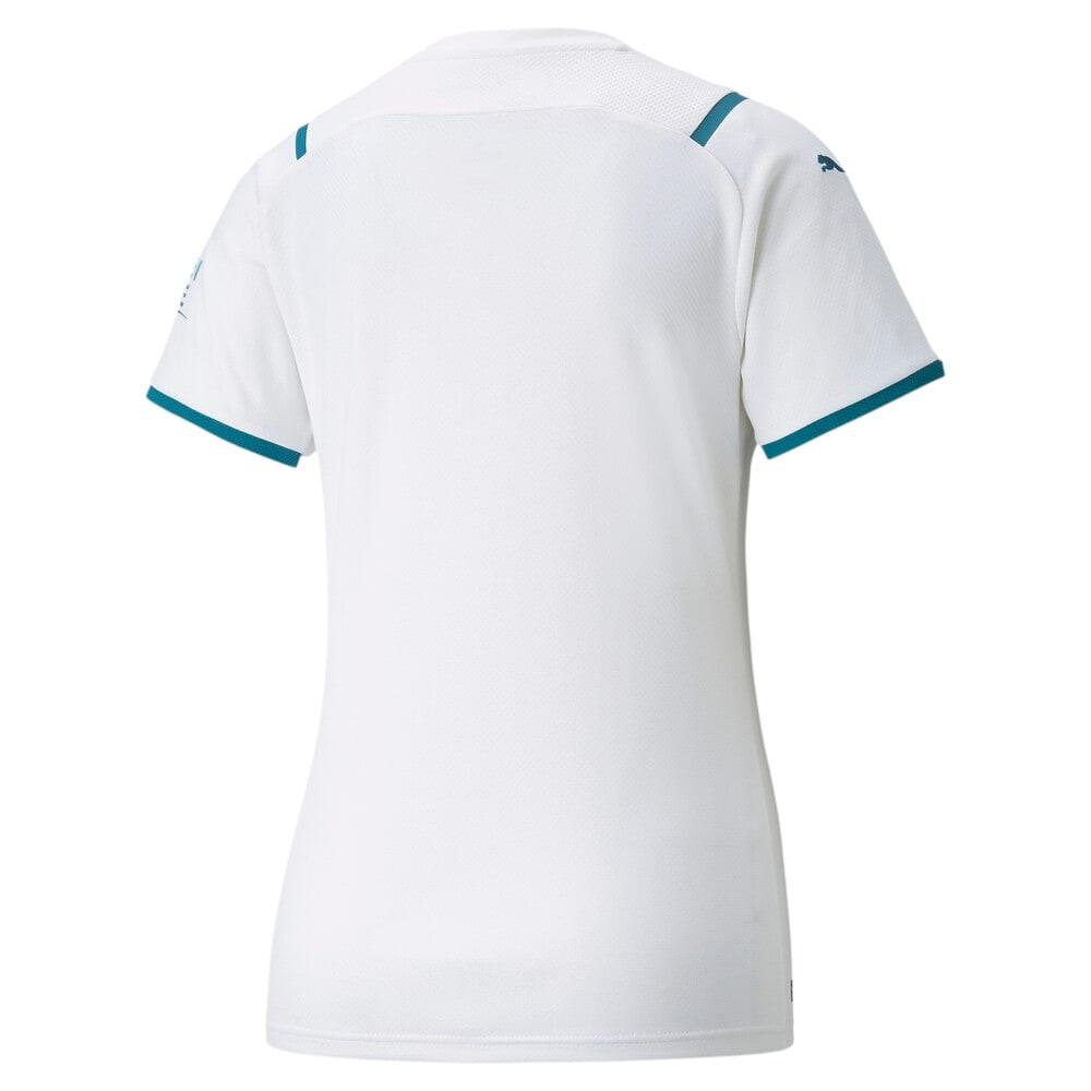 Image PUMA Camisa Manchester City II Torcedora Feminina #2