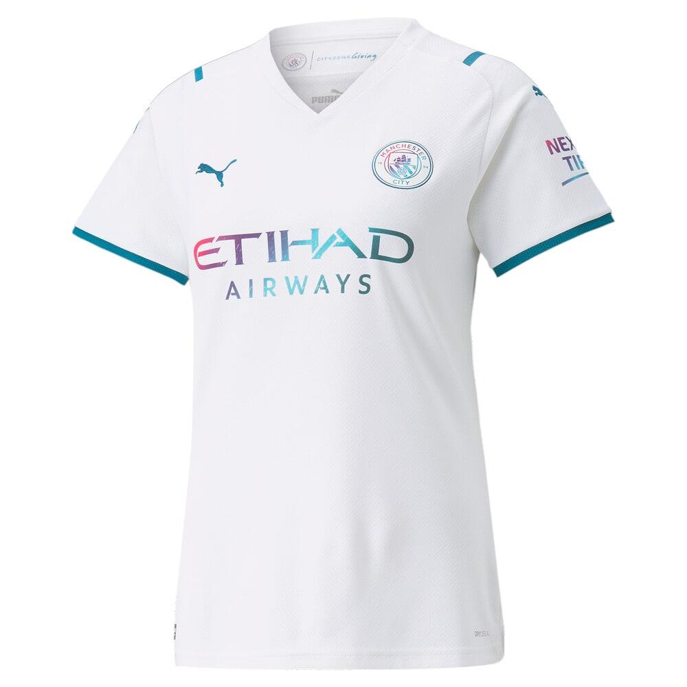 Image PUMA Camisa Manchester City II Torcedora Feminina #1
