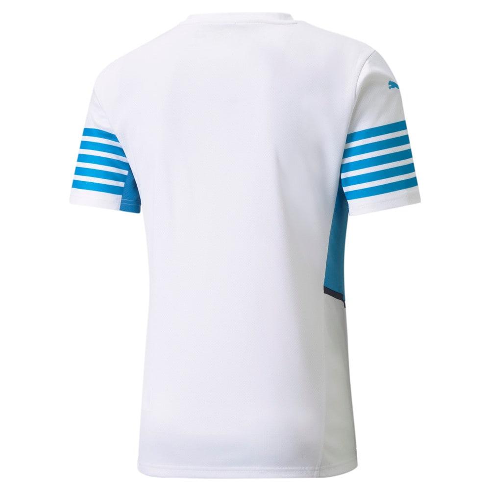 Image Puma OM Home Replica Men's Jersey with Sponsors #2