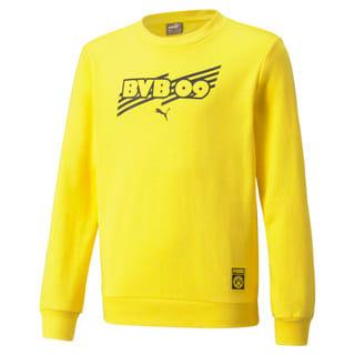 Изображение Puma Детская толстовка BVB FtblCore Crew Neck Youth Football Sweater