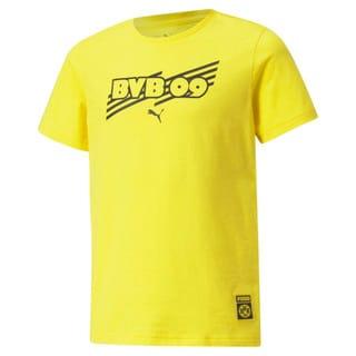 Изображение Puma Детская футболка BVB FtblCore Youth Football Tee