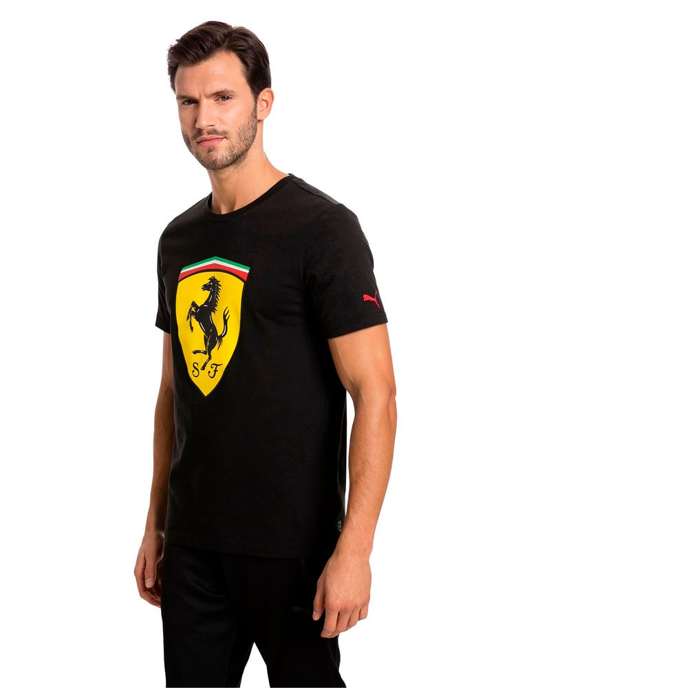 Görüntü Puma FERRARI BIG SHIELD Erkek T-Shirt #1