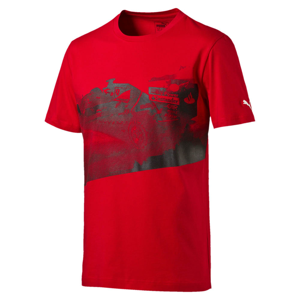 Görüntü Puma FERRARI Transform Baskılı Erkek T-Shirt #1
