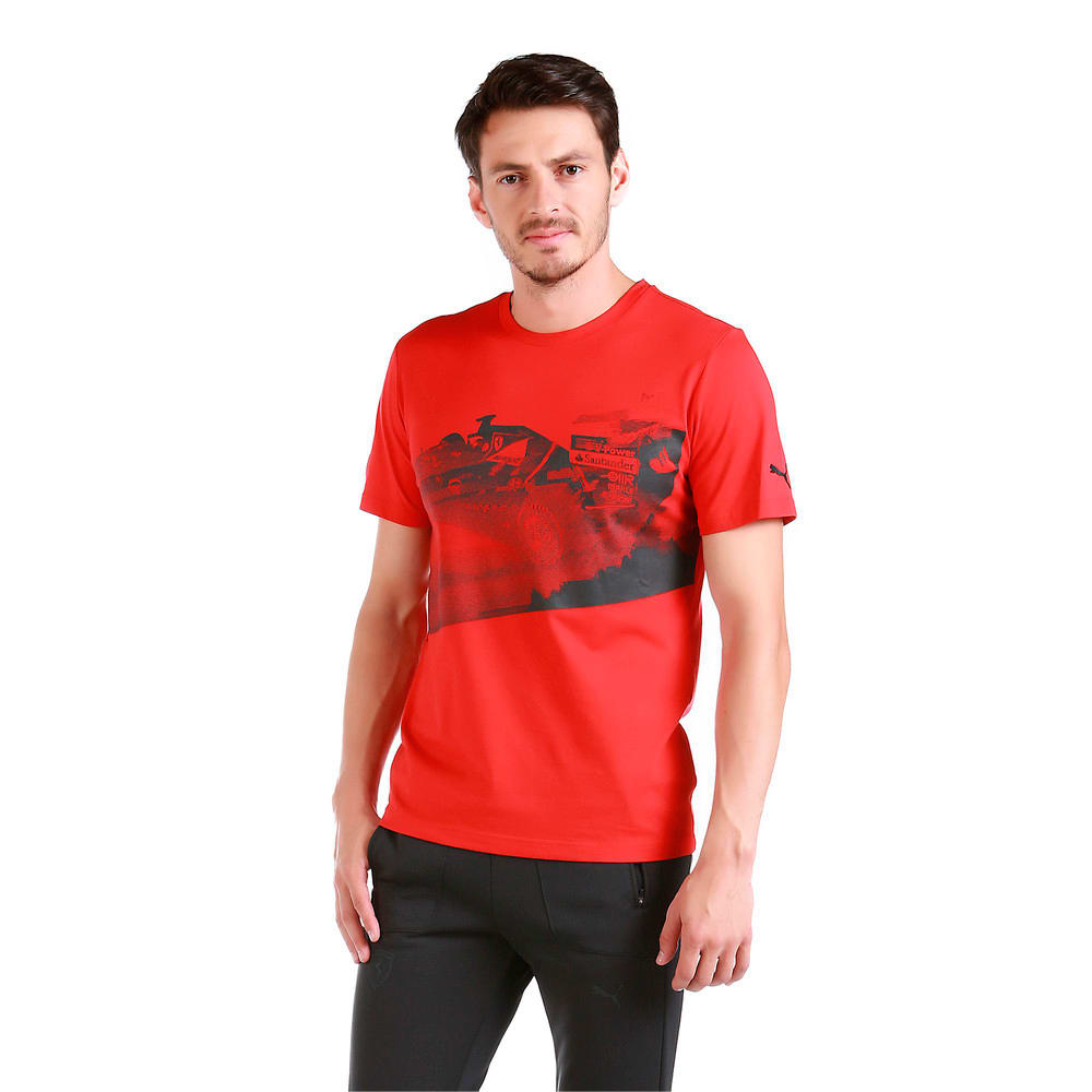 Görüntü Puma FERRARI Transform Baskılı Erkek T-Shirt #2