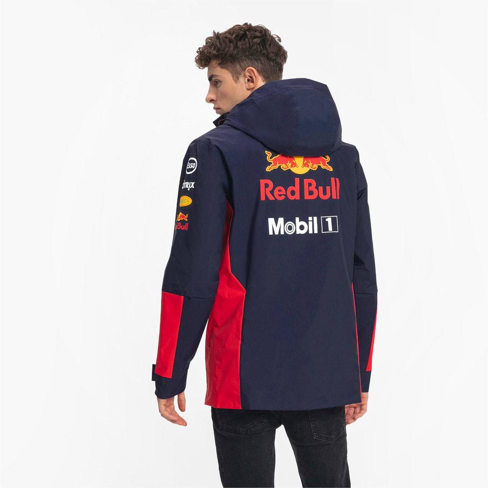 Image Puma Red Bull Racing Team Hooded Men's Rain Jacket #2