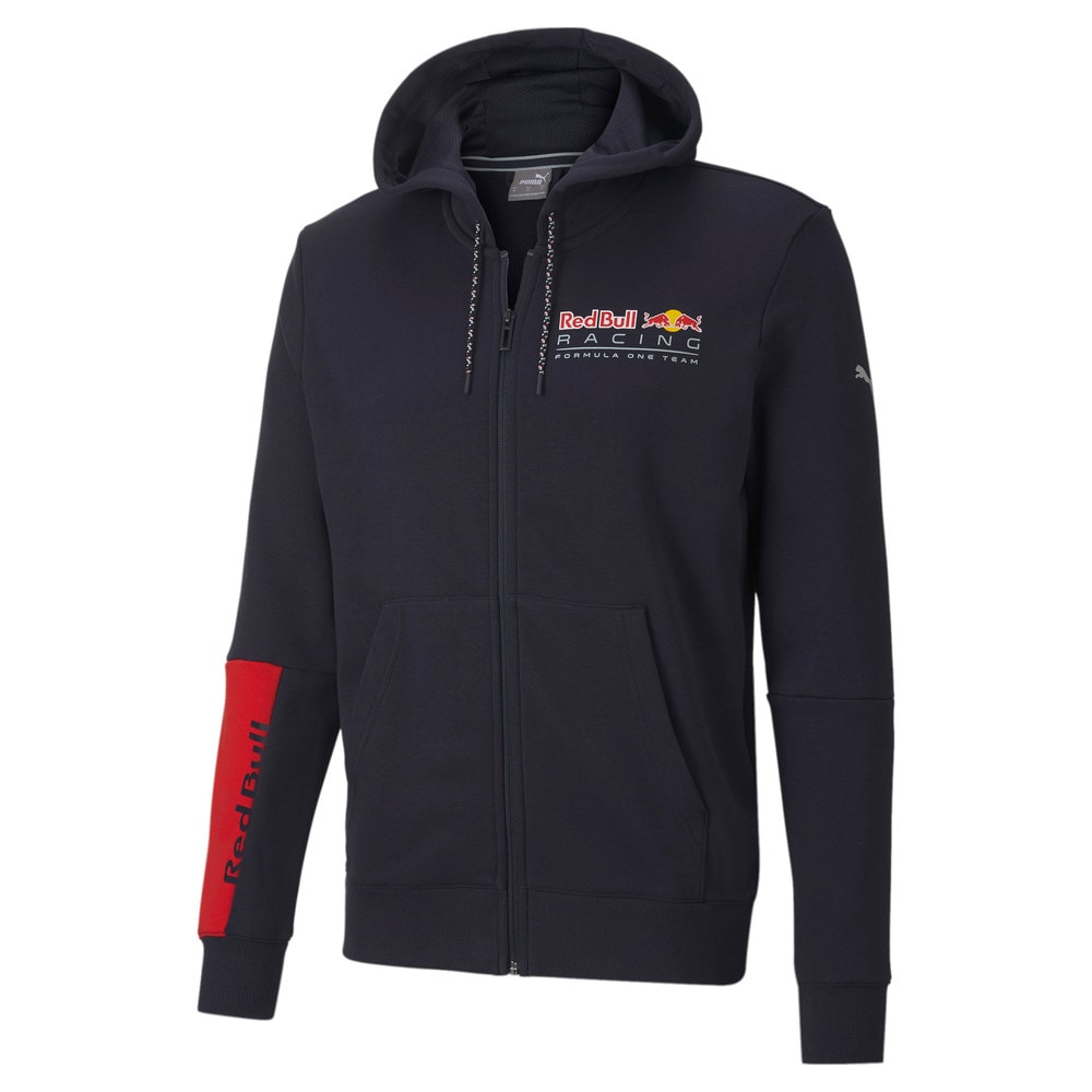 Imagen PUMA Chaqueta deportiva con capucha y logotipo Red Bull Racing para hombre #1