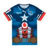 Image Puma Bulls 2020 Marvel Replica Boy's Rugby Shirt #1