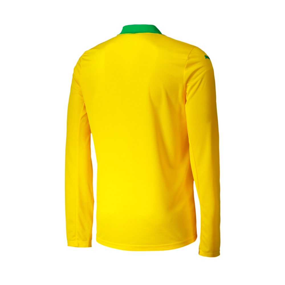 Image Puma Mamelodi Sundowns Home Replica Long Sleeve Men's Jersey #2
