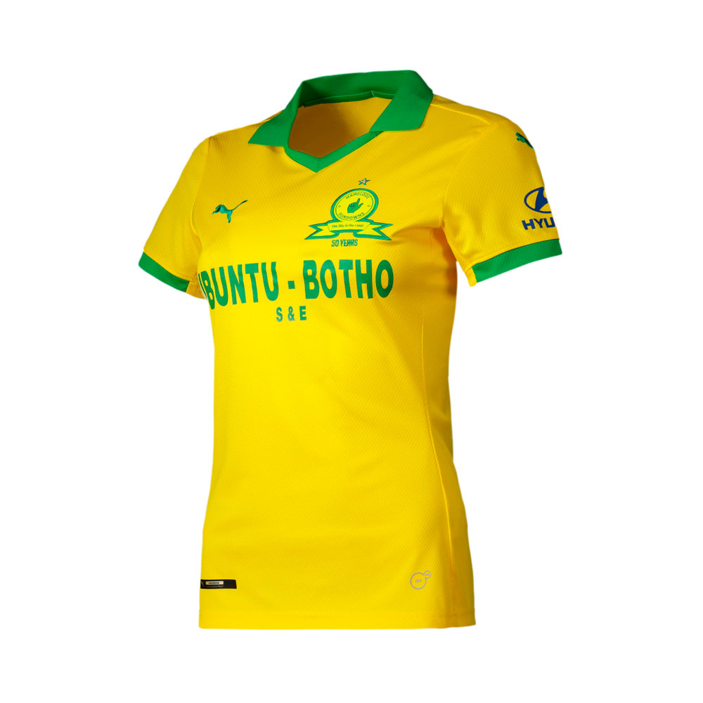 Image Puma Mamelodi Sundowns Home Replica Women's Jersey #1