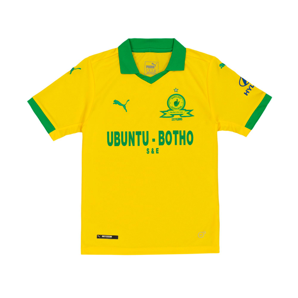 Image Puma Mamelodi Sundowns Home Replica Kids' Jersey #1