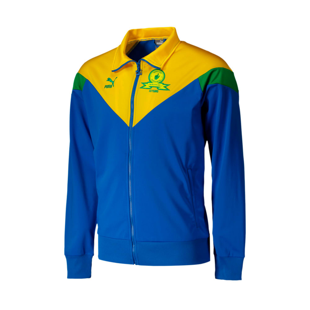 Image Puma Mamelodi Sundowns Iconic MCS Men's Football Track Jacket #1