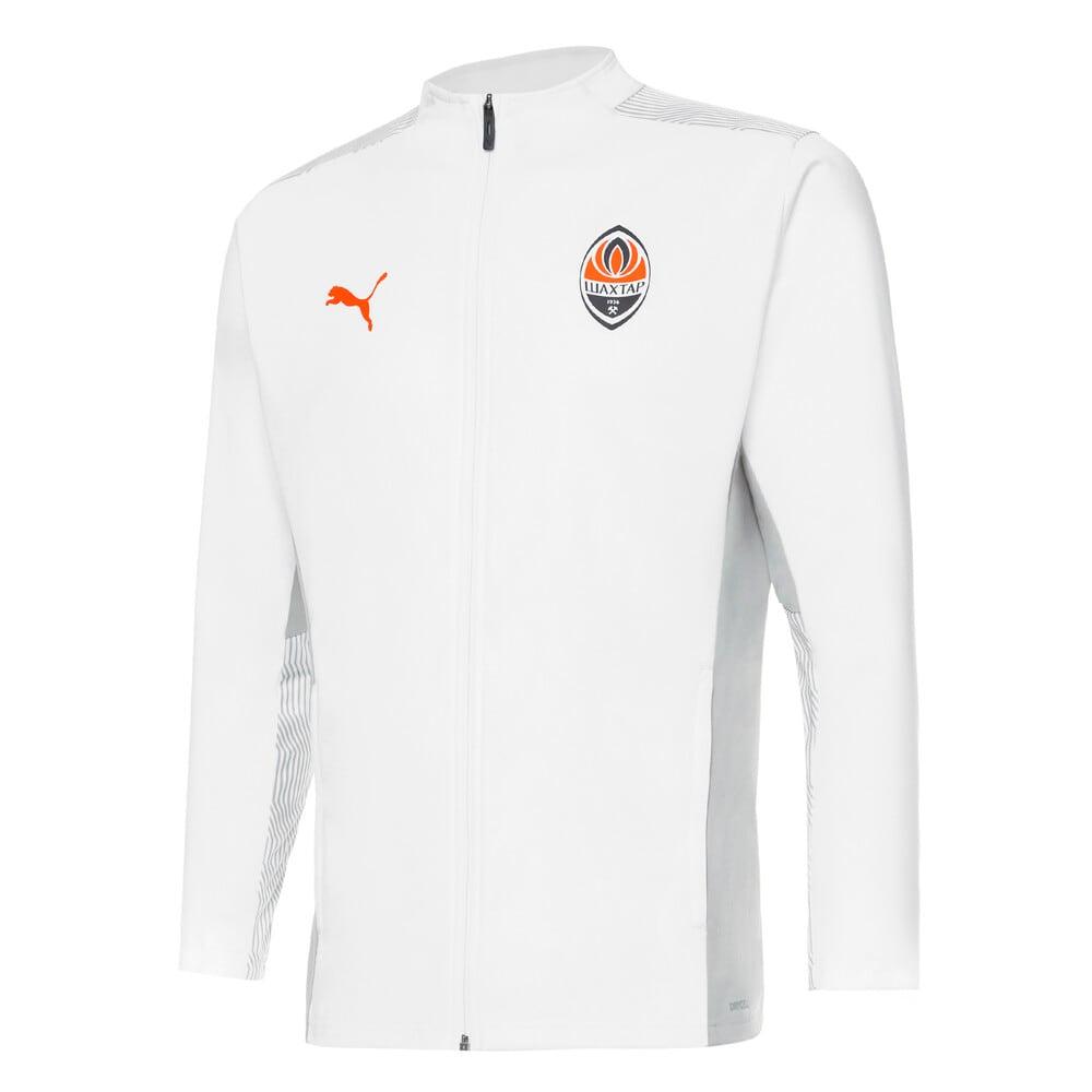 Зображення Puma Куртка FCSD Training Men's Football Jacket #1: Puma White-GOLDEN POPPY