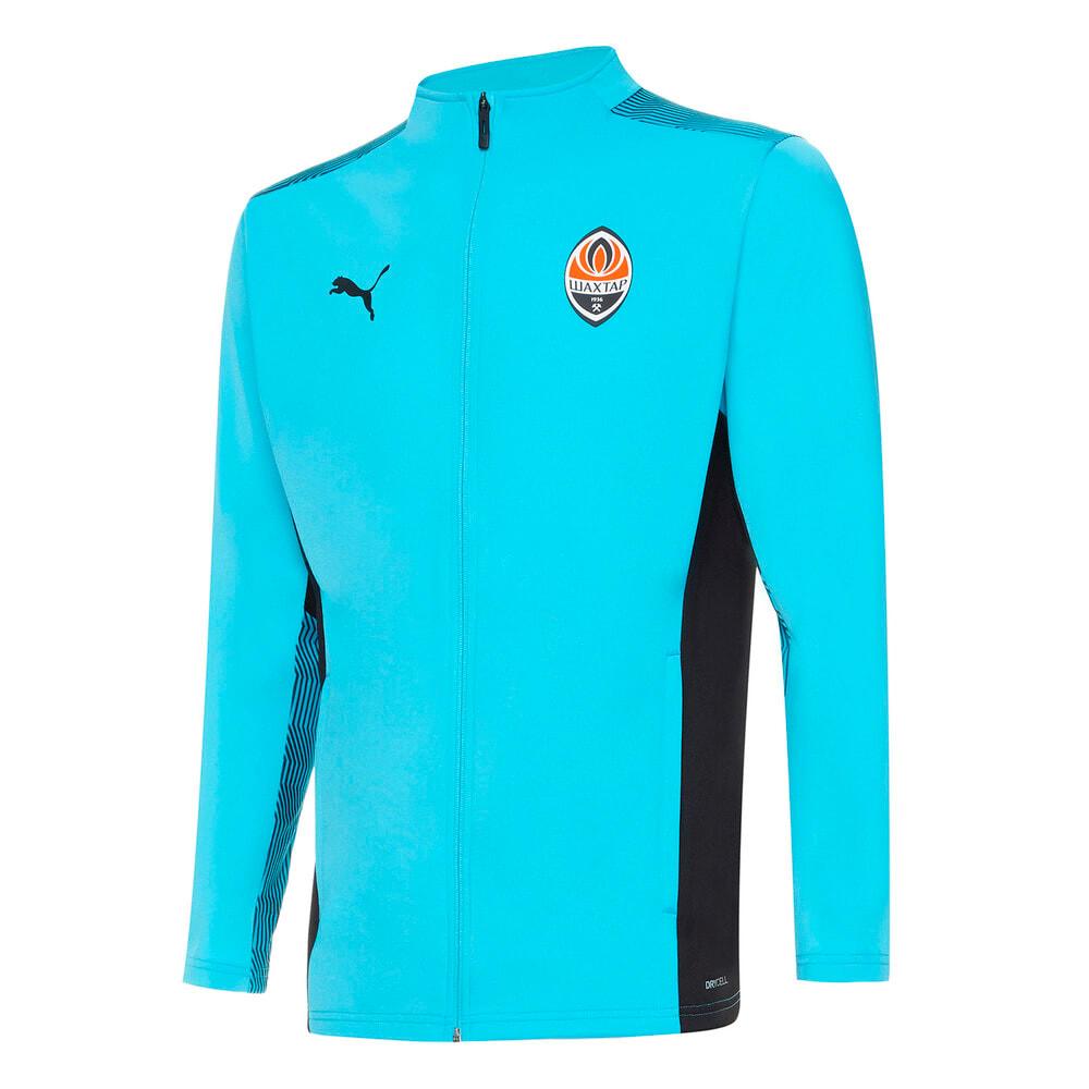 Изображение Puma Куртка FCSD Training Men's Football Jacket #1: Blue Atoll-Puma Black