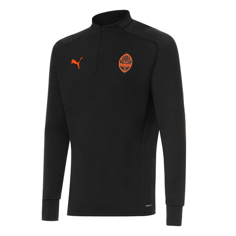 Изображение Puma Куртка FCSD Training Men's Football Fleece #1: Puma Black-GOLDEN POPPY