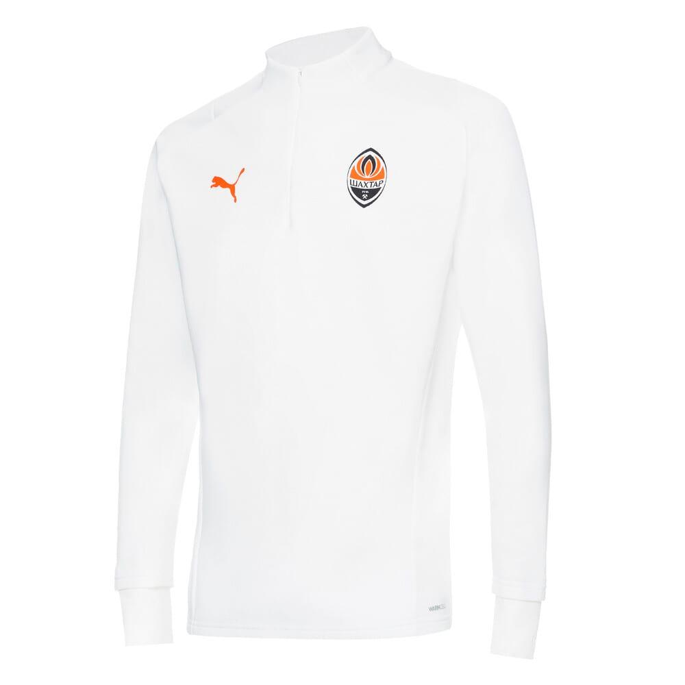 Изображение Puma Куртка FCSD Training Men's Football Fleece #1: Puma White-GOLDEN POPPY