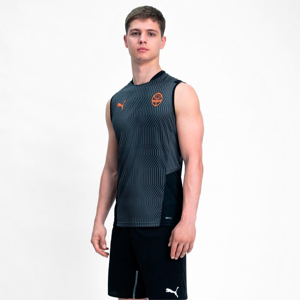Изображение Puma Шорты FCSD Training Men's Football Shorts #1: Puma Black-GOLDEN POPPY