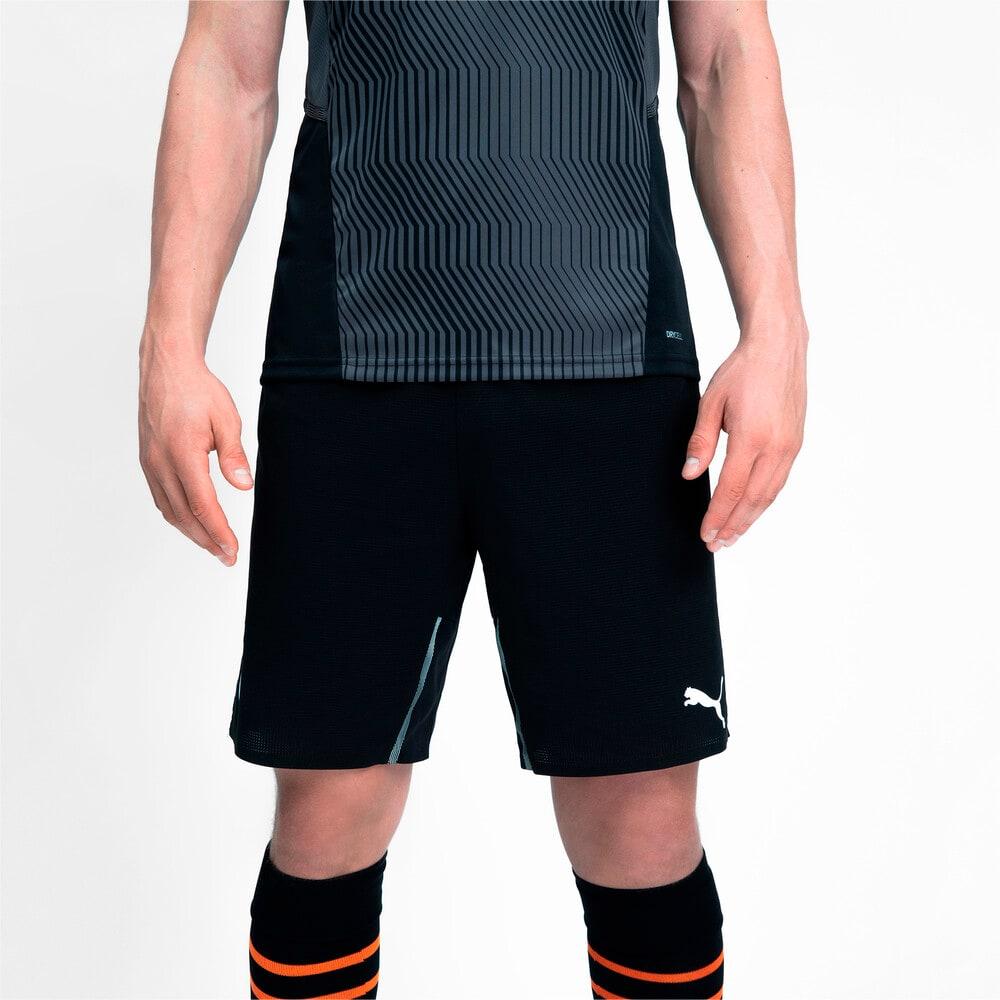 Изображение Puma Шорты FCSD Training Men's Football Shorts #2: Puma Black-GOLDEN POPPY