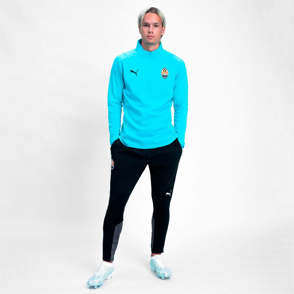 Изображение Puma Штаны FCSD Training Men's Football Pants #1: Puma Black-GOLDEN POPPY