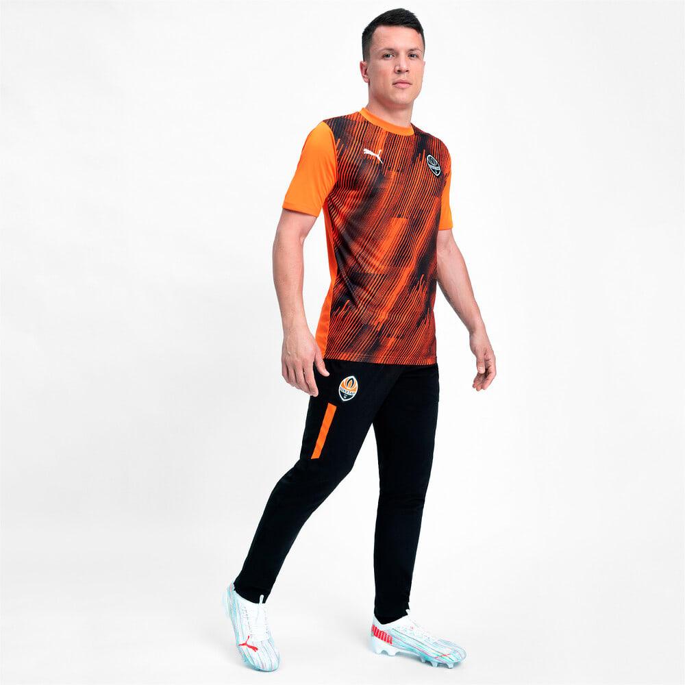 Зображення Puma Штани FCSD Woven Men's Football Pants #1: Puma Black-GOLDEN POPPY