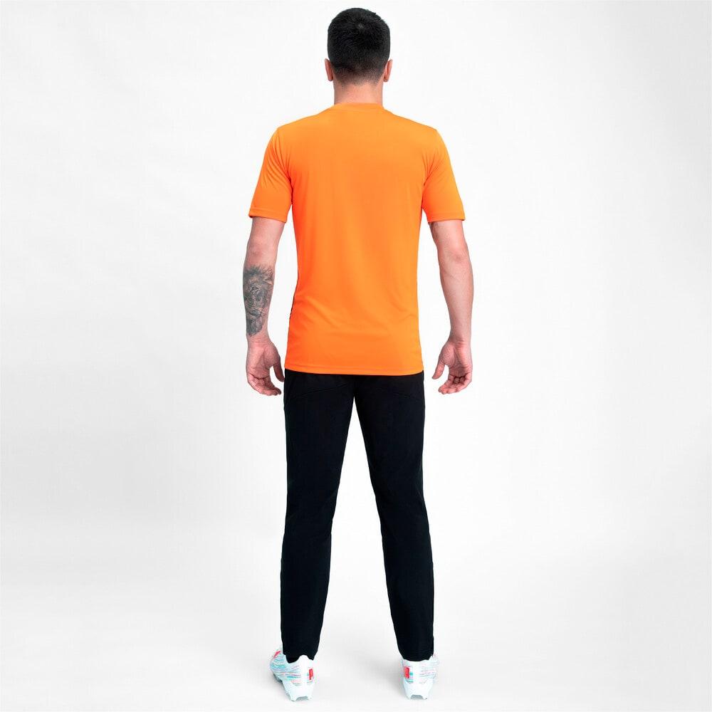 Зображення Puma Штани FCSD Woven Men's Football Pants #2: Puma Black-GOLDEN POPPY