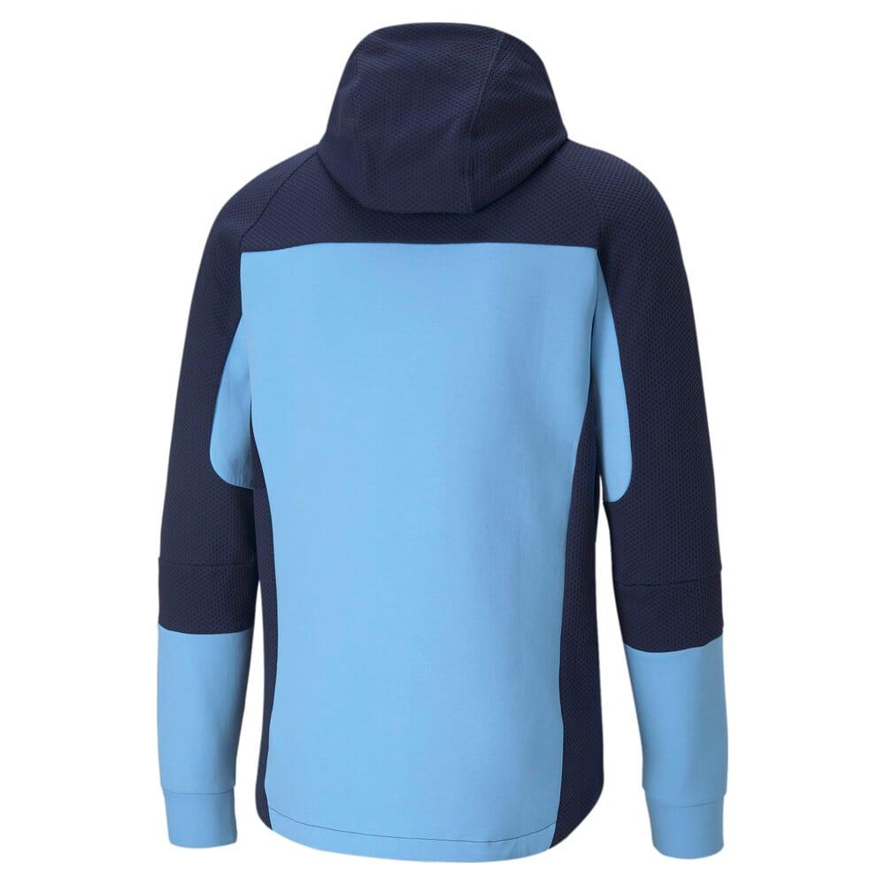Изображение Puma Олимпийка Man City Evostripe Hooded Men's Football Jacket #2