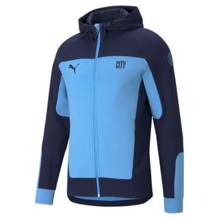 Изображение Puma Олимпийка Man City Evostripe Hooded Men's Football Jacket