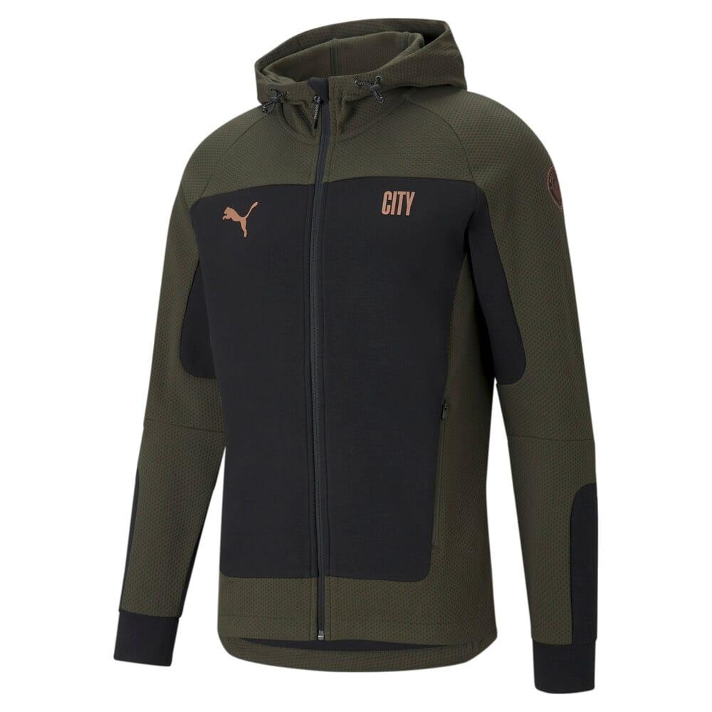 Изображение Puma Олимпийка Man City Evostripe Hooded Men's Football Jacket #1