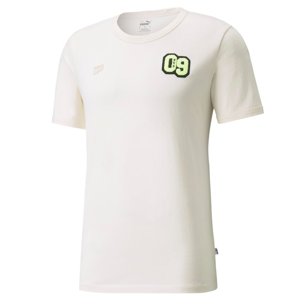 Изображение Puma Футболка BVB FtblFeat Men's Football Tee #1