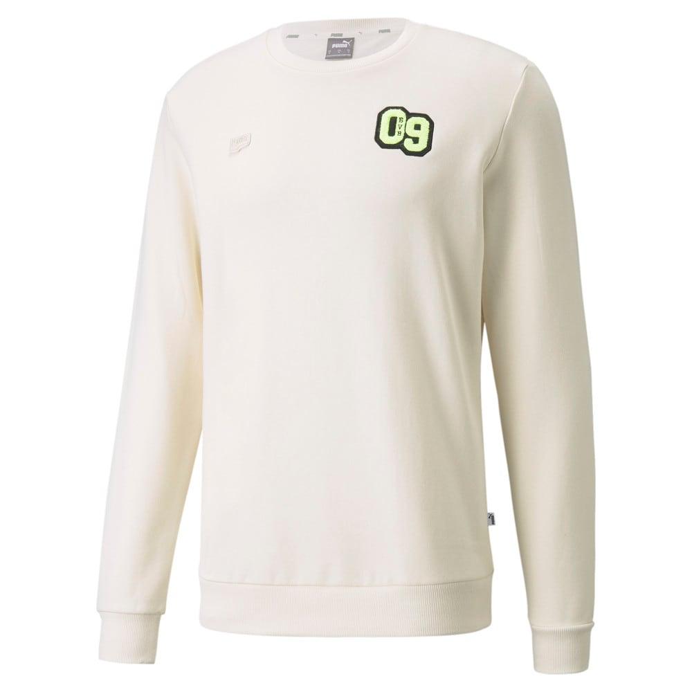 Изображение Puma Толстовка BVB FtblFeat Crew Neck Men's Football Sweatshirt #1