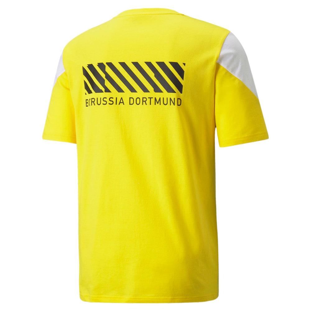 Изображение Puma Футболка BVB FtblCulture Men's Football Tee #2