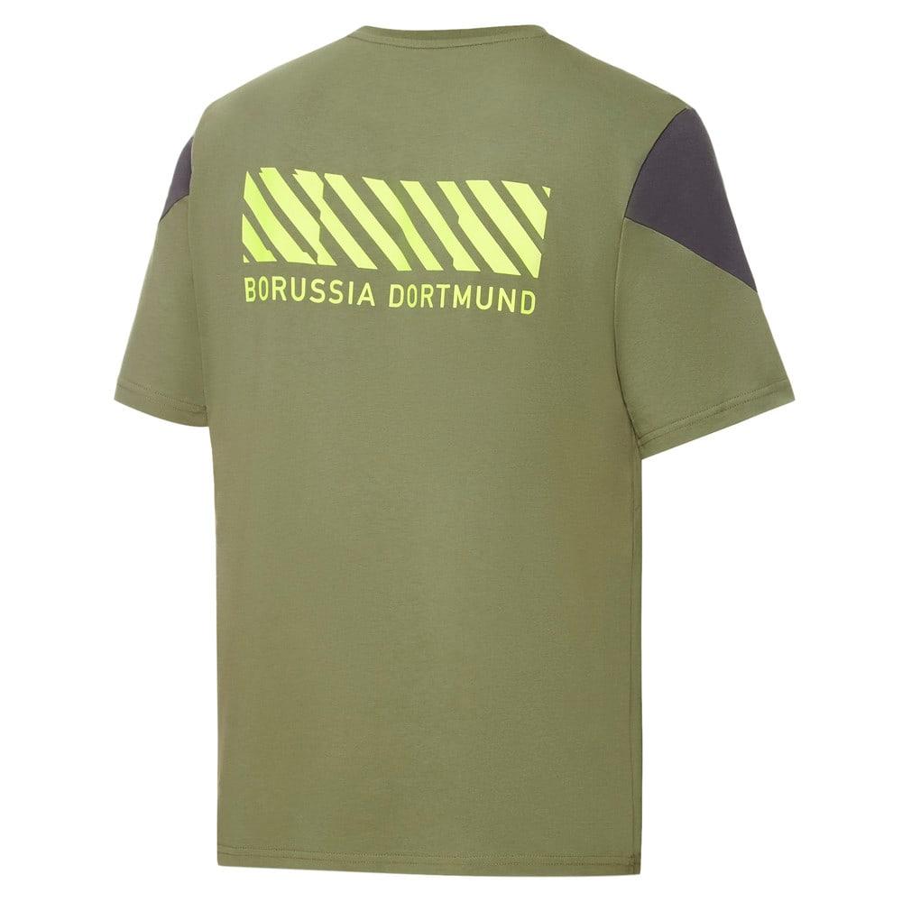 Зображення Puma Футболка BVB FtblCulture Men's Football Tee #2: Olivine-Safety Yellow