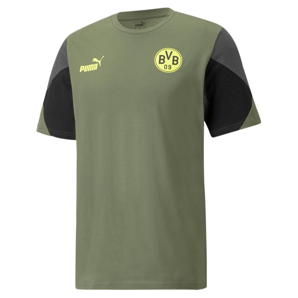 Изображение Puma Футболка BVB FtblCulture Men's Football Tee #1