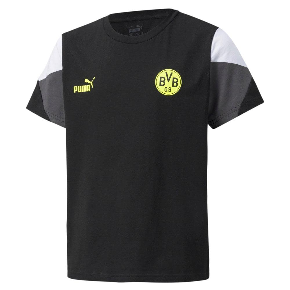 Изображение Puma Детская футболка BVB FtblCulture Youth Football Tee #1