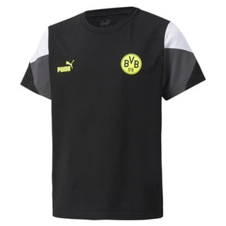 Изображение Puma Детская футболка BVB FtblCulture Youth Football Tee