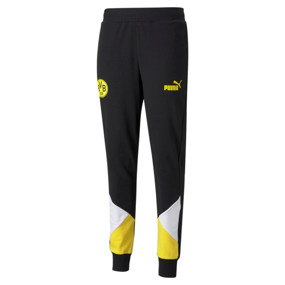 Изображение Puma Штаны BVB FtblCulture Men's Track Football Pants #1