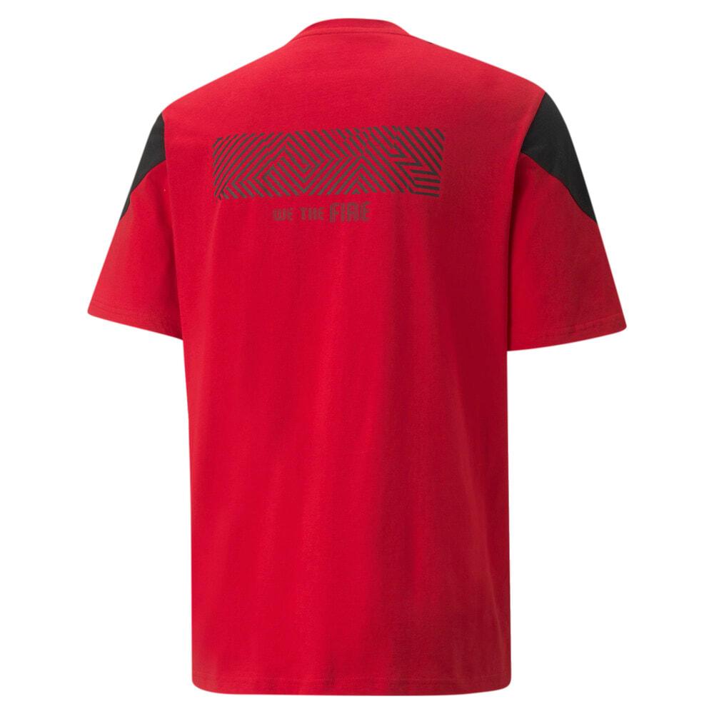 Зображення Puma Футболка AC Milan FtblCulture Men's Football Tee #2: Tango Red -Puma Black
