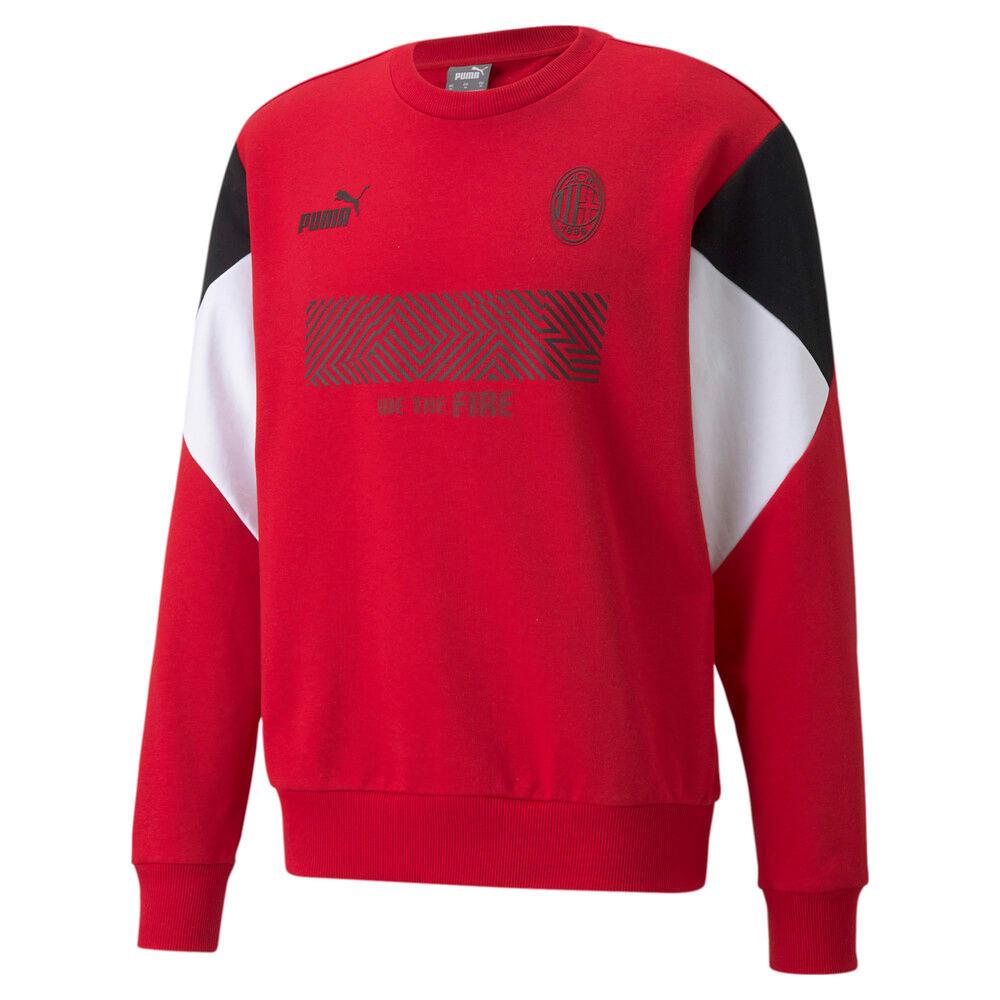 Изображение Puma Толстовка ACM FtblCulture Crew Neck Men's Football Sweatshirt #1