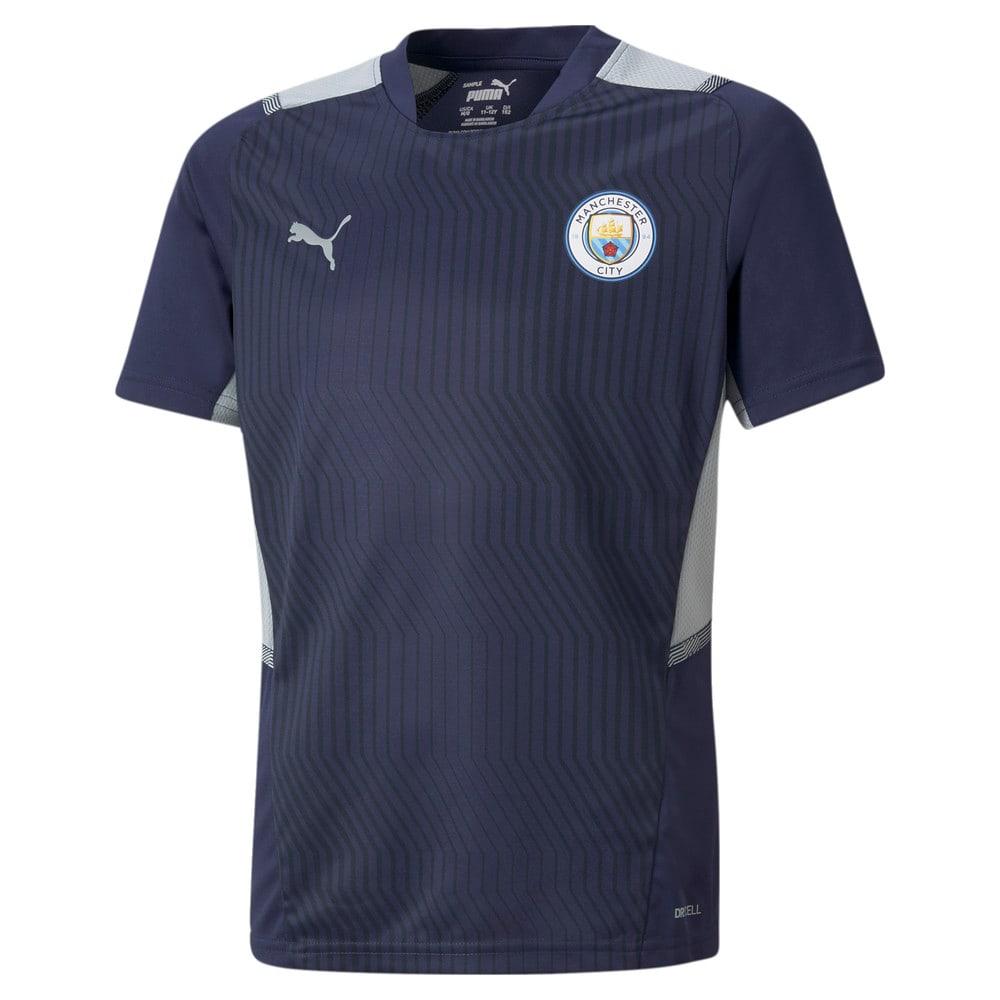 Изображение Puma Детская футболка Man City Training Youth Jersey #1
