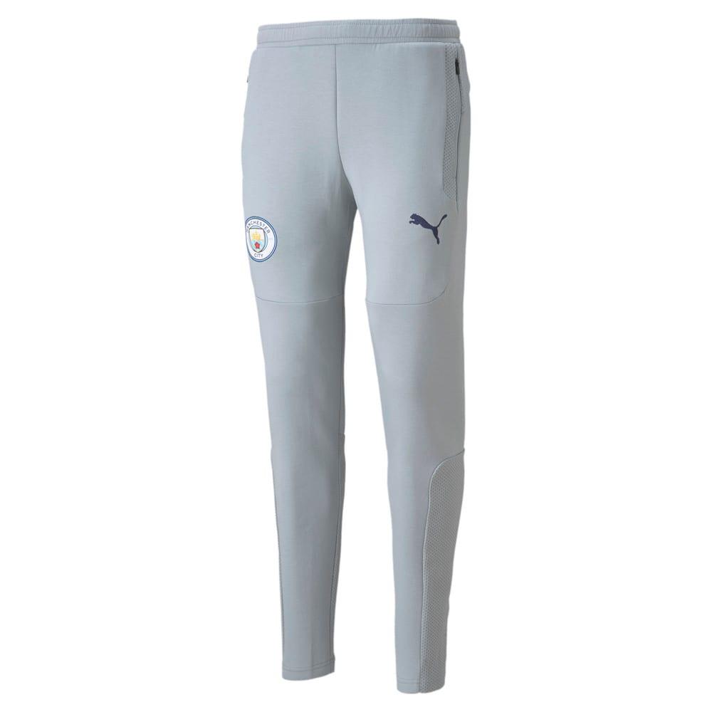 Изображение Puma Штаны Man City Casuals Men's Football Sweatpants #1