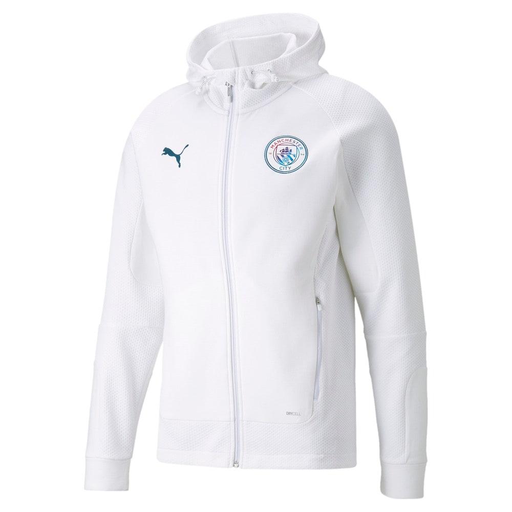 Изображение Puma Толстовка Man City Casuals Men's Football Hooded Jacket #1
