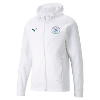 Изображение Puma Толстовка Man City Casuals Men's Football Hooded Jacket