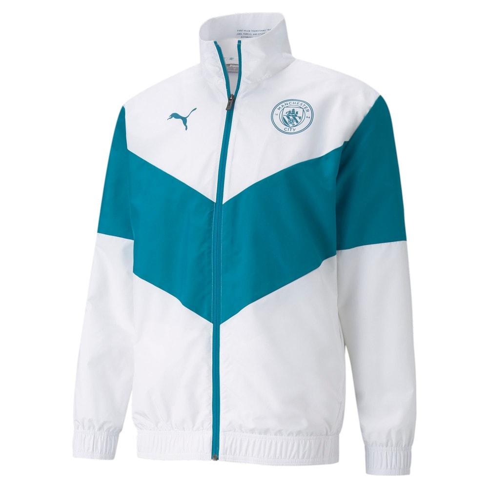 Image Puma PUMA x FIRST MILE Man City Prematch Men's Football Jacket #1