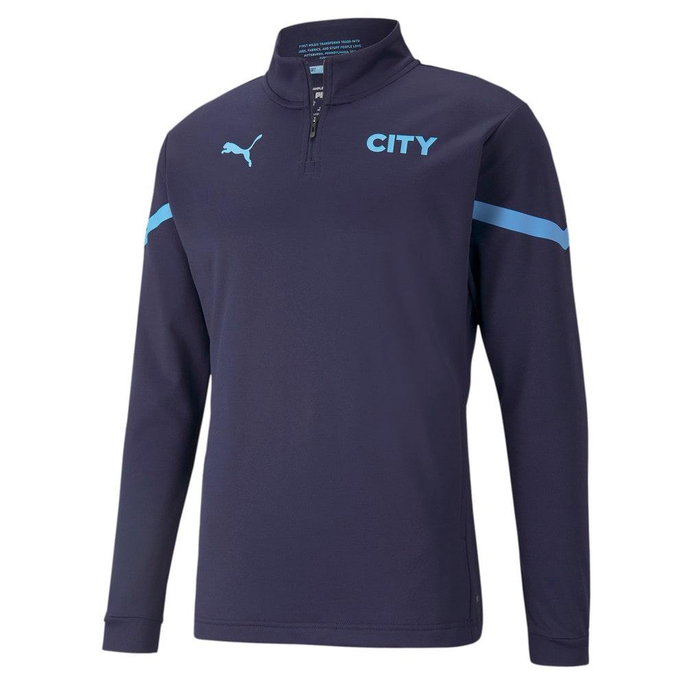 Изображение Puma Олимпийка Man City Prematch Quarter-Zip Men's Football Top #1