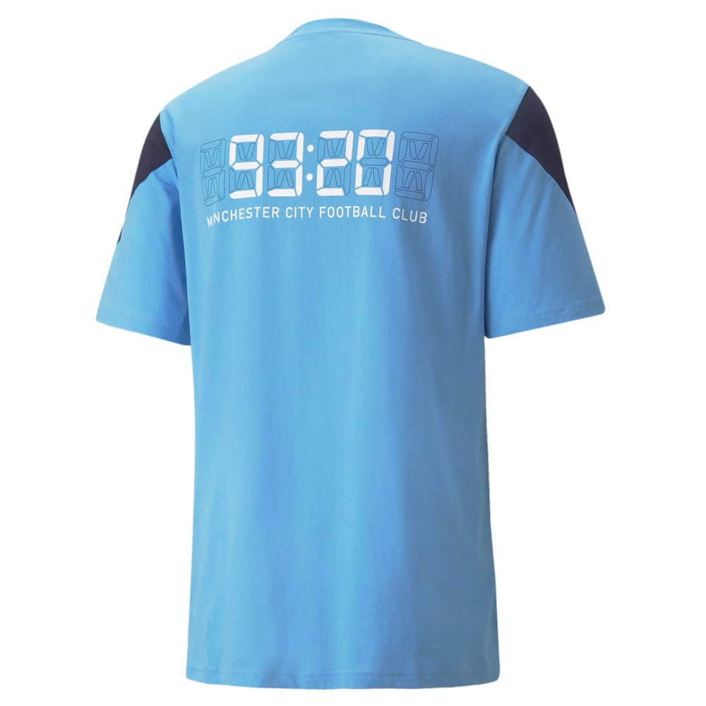 Зображення Puma Футболка Man City FtblCulture Men's Football Tee #2: Team Light Blue-Puma White