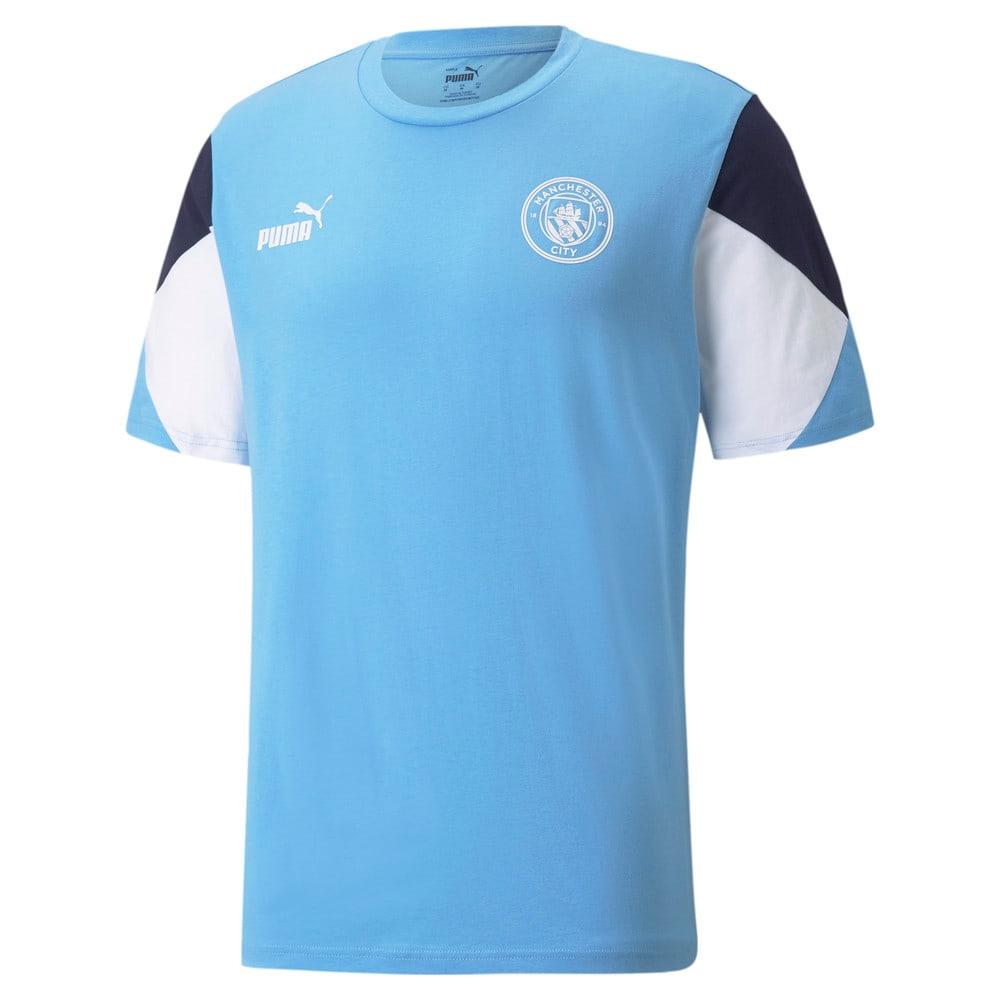 Зображення Puma Футболка Man City FtblCulture Men's Football Tee #1: Team Light Blue-Puma White