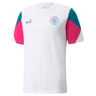 Görüntü Puma MANCHESTER CITY FtblCULTURE Erkek Futbol T-shirt