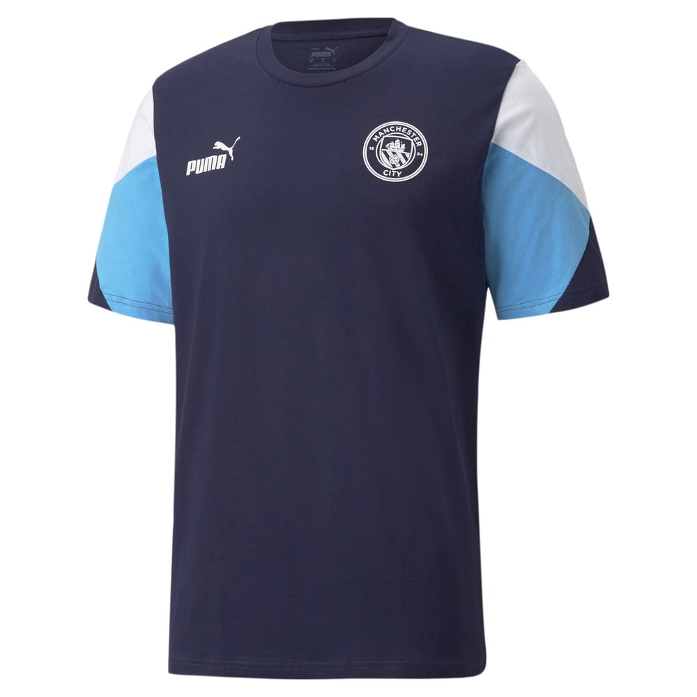 Görüntü Puma MANCHESTER CITY FtblCULTURE Erkek Futbol T-shirt #1