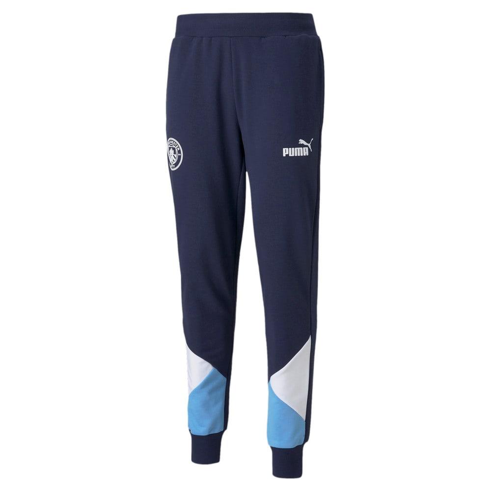 Изображение Puma Штаны Man City FtblCulture Men's Football Track Pants #1