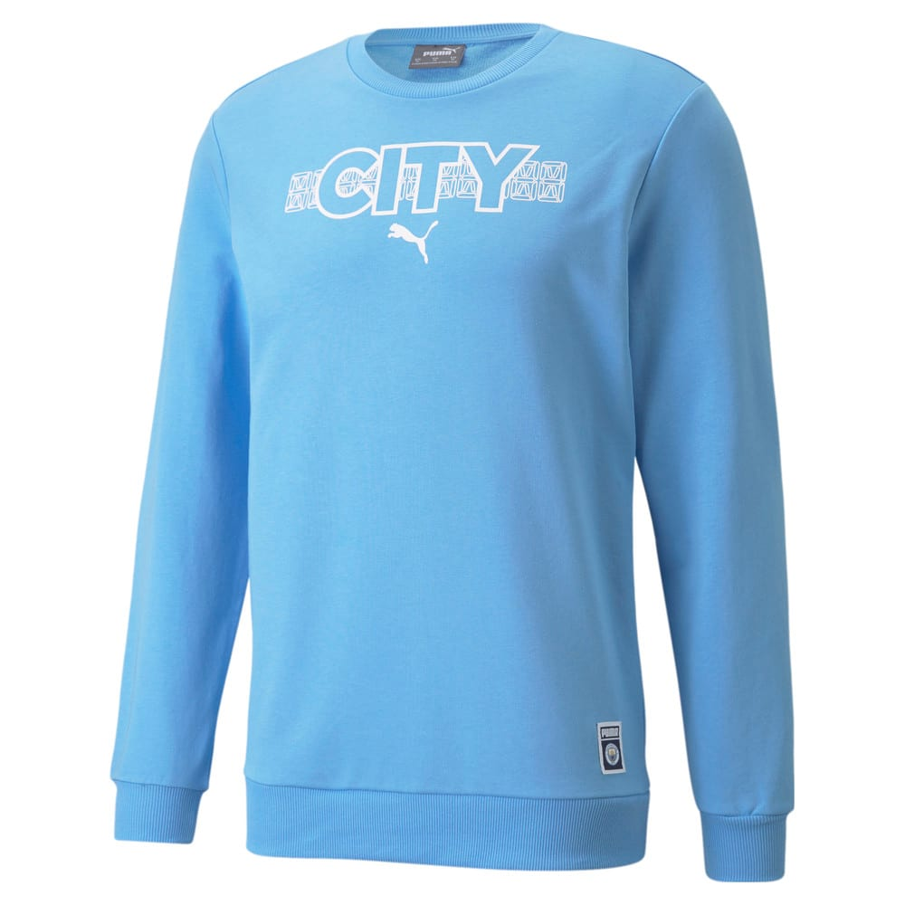 Изображение Puma Толстовка Man City FtblCore Men's Football Sweater #1